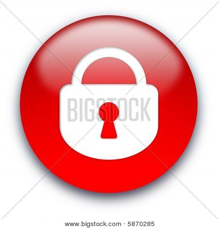 Closed Lock Button