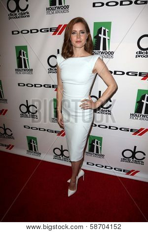 Amy Adams at the 17th Annual Hollywood Film Awards Backstage, Beverly Hilton Hotel, Beverly Hills, CA 10-21-13
