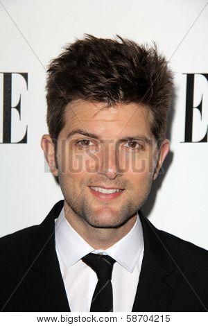 Adam Scott at the Elle 20th Annual