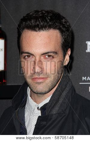 Reid Scott at the Macallan Masters of Photography Featuring Elliott Erwitt, Leica Gallery, Los Angeles, CA 10-24-13