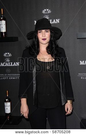 Morgan Kibby at the Macallan Masters of Photography Featuring Elliott Erwitt, Leica Gallery, Los Angeles, CA 10-24-13