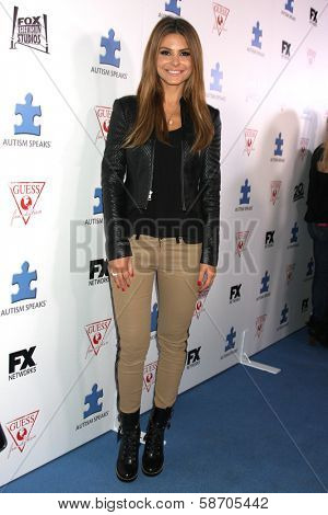 Maria Menounos at the Blue Jean Ball benefiting Austism Speaks, Blvd. 3, Hollywood, CA 10-24-13