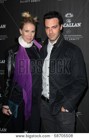 Elspeth Keller and Reid Scott at the Macallan Masters of Photography Featuring Elliott Erwitt, Leica Gallery, Los Angeles, CA 10-24-13