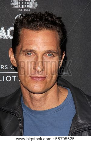 Matthew McConaughey at the Macallan Masters of Photography Featuring Elliott Erwitt, Leica Gallery, Los Angeles, CA 10-24-13