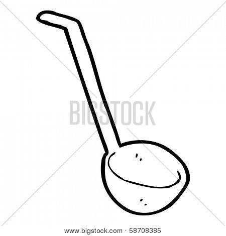 cartoon ladle