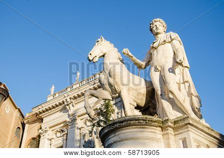 Sculpture at the Capitoline Hill