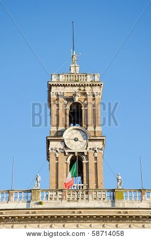 Bell tower at the Capitoline Hill