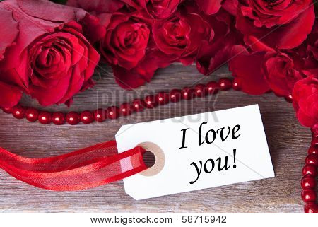 Label With I Love You