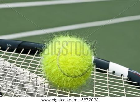 Electrified Tennis Ball