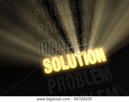 Bright Solution In A Row Of Problems