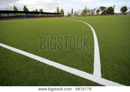 Artificial Covering For Game In Field Hockey