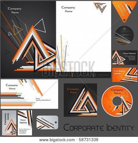 Corporate identity template no. 17