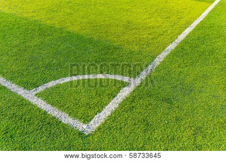 Synthetic football field