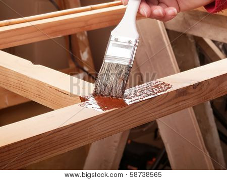 Painting Wooden Rack