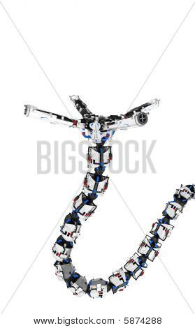Robotic Tentacle Arm, Supporting