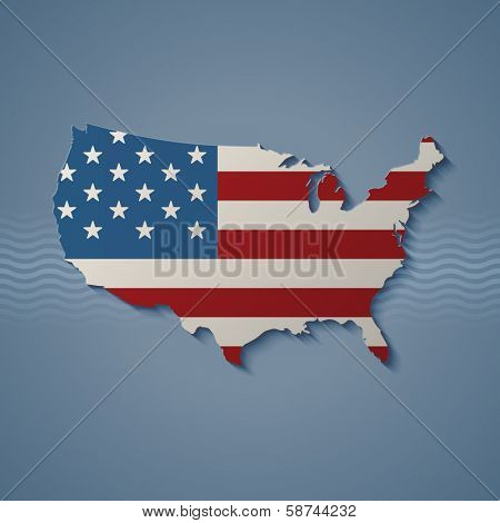 United States, eps10 vector