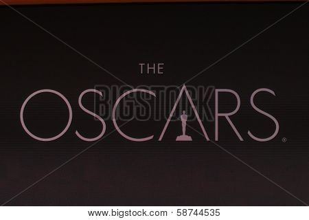 LOS ANGELES - JAN 16:  Oscars at the 86th Academy Awards Nominations Announcement  at AMPAS Samuel Goldwyn Theater on January 16, 2014 in Beverly Hills, CA