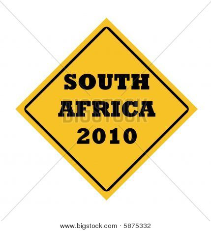 South Africa 2010 Word Sign