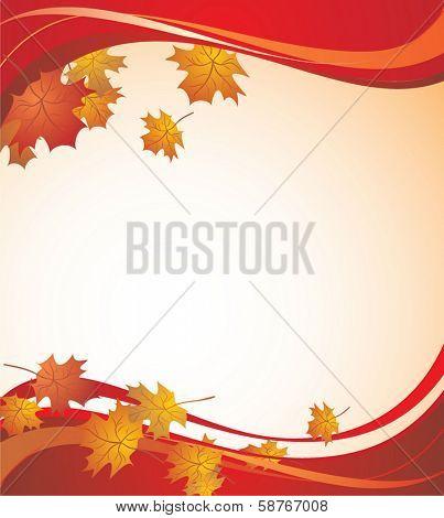 Autumnal banner
