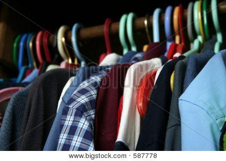 A Guy's Wardrobe