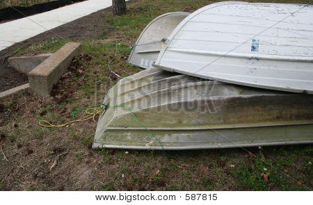Abandoned Paddle Boats