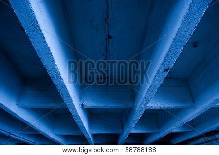 Underside Of Concrete Bridge
