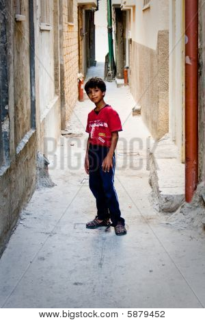 Child From Balata Refugee Camp