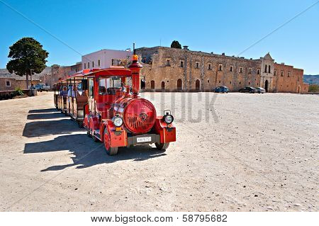 The Red Tourist Train