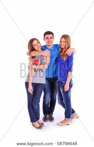 Three Young People