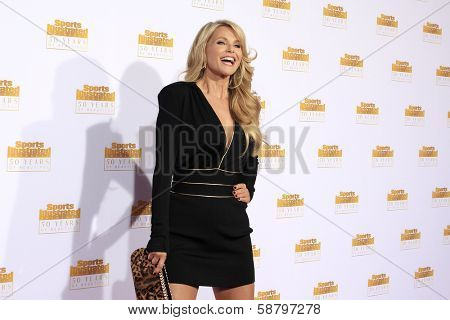 LOS ANGELES - JAN 14: Christie Brinkley at the NBC + Time Inc. celebrate the 50th anniversary of the Sports Illustrated Swimsuit Issue at Dolby Theatre on January 14, 2014 in Los Angeles, CA
