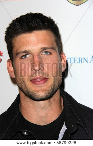 LOS ANGELES - JAN 5:  Parker Young at the BCS National Championship Party at Pasadena Convention Center on January 5, 2014 in Pasadena, CA