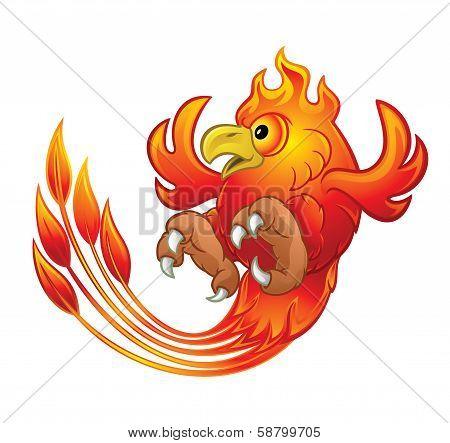 Phoenix Bird vector illustration