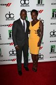 Julius Tennon and Viola Davis at the 17th Annual Hollywood Film Awards Arrivals, Beverly Hilton Hote