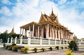 Silver Pagoda In Royal Palace, Phnom Penh, No.1 Attractions In Cambodia.