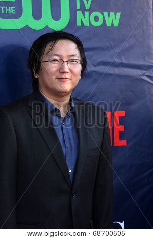 LOS ANGELES - JUL 17:  Masi Oka at the CBS TCA July 2014 Party at the Pacific Design Center on July 17, 2014 in West Hollywood, CA