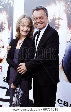 LOS ANGELES - JUL 16:  Gracwe Zabriskie, Ray WIse at the 'Twin Peaks - The Entire Mystery' Blu-Ray/DVD Release Party And Screening at the Vista Theater on July 16, 2014 in Los Angeles, CA