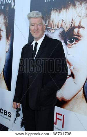 LOS ANGELES - JUL 16:  David Lynch at the 'Twin Peaks - The Entire Mystery' Blu-Ray/DVD Release Party And Screening at the Vista Theater on July 16, 2014 in Los Angeles, CA