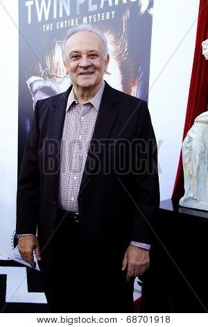 LOS ANGELES - JUL 16:  Angelo Badalamenti at the 'Twin Peaks - The Entire Mystery' Blu-Ray/DVD Release Party And Screening at the Vista Theater on July 16, 2014 in Los Angeles, CA