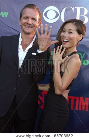 LOS ANGELES - JUL 17:  Sebastian Roche at the CBS TCA July 2014 Party at the Pacific Design Center on July 17, 2014 in West Hollywood, CA