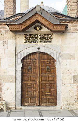Mevlana Museum Door