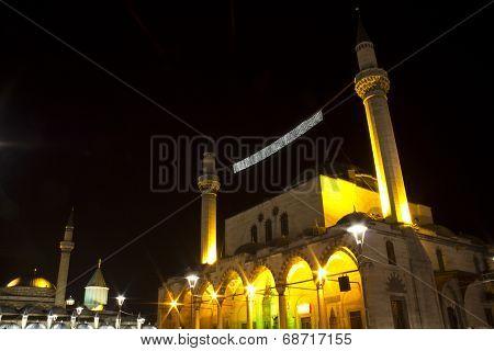 Mevlana Museum And Selimiye Mosque