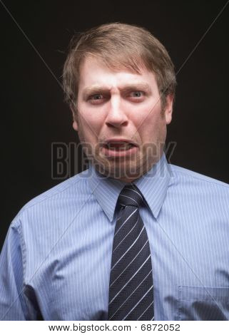 funny expression businessman