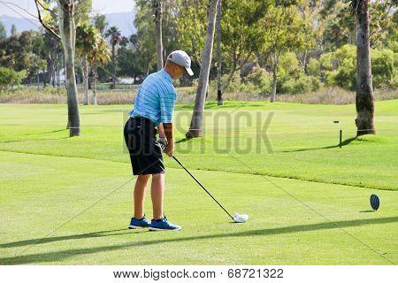 Teen golfer ready to drive