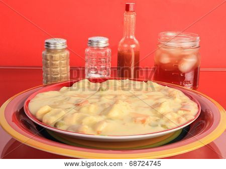 Chicken And Dumplings With Sweet Tea