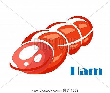 Tasty ham meat