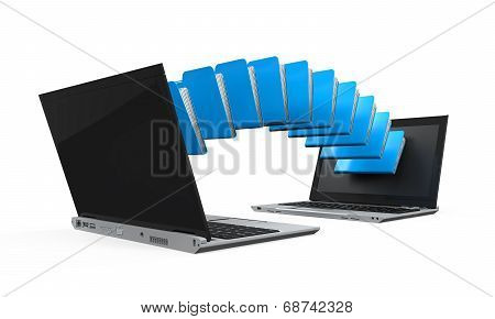 Laptop Data Transferring