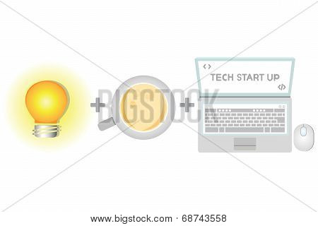 tech start up, business startup