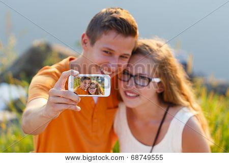 Lovers Selfie