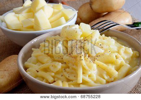 Pasta And Potatoes