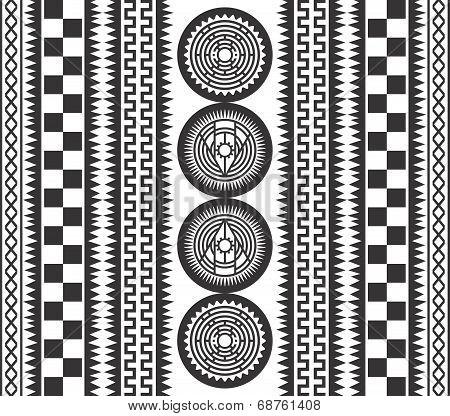 native art pattern